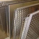 Рифлёный алюминиевый лист